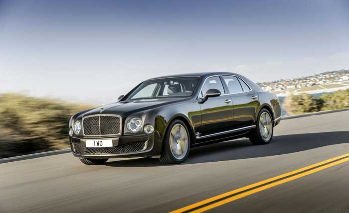 Bentley Mulsanne best luxury vehicle