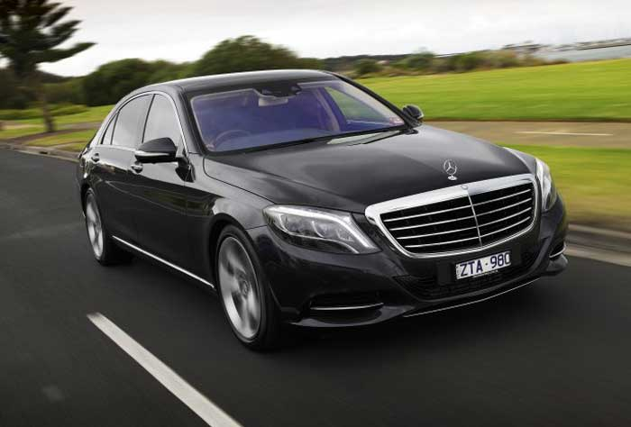 Mercedes S luxury car