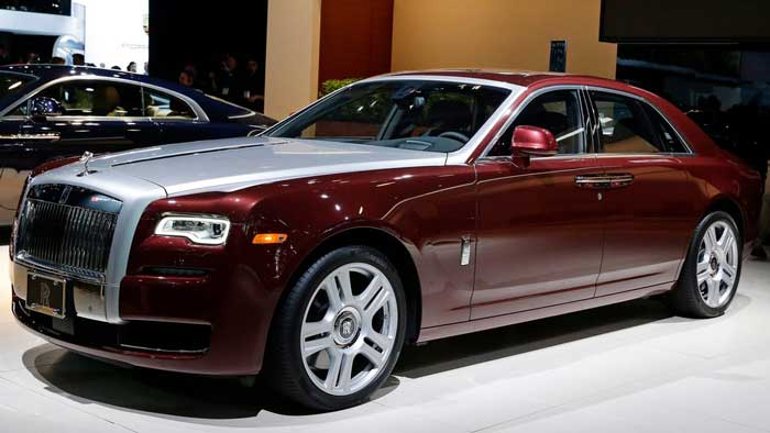 Rolls Royce Ghost Best Luxury Cars