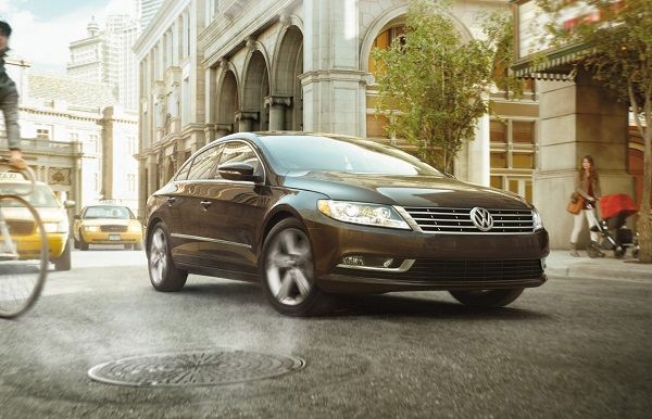 Best Luxury Cars - Exterior of Volkswagen Passat CC