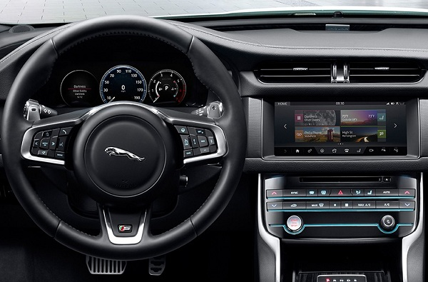 Luxury Iinterior of Jaguar XF