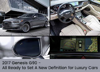 2017 Genesis G90 – All Ready to Set A New Definition for Luxury Cars
