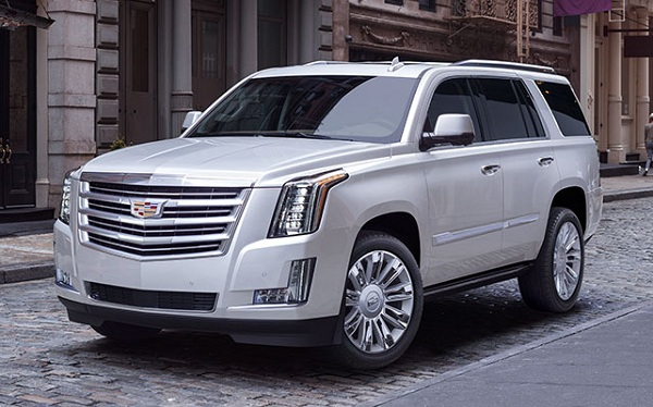 Exterior of the 2017 Cadillac Escalade SUV