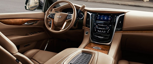 Interior of 2017 Cadillac Escalade SUV