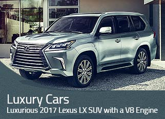 Luxury Cars – Luxurious 2017 Lexus LX SUV with a V8 Engine