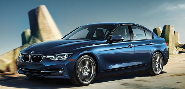 Exterior of the 2017 BMW 3 Series