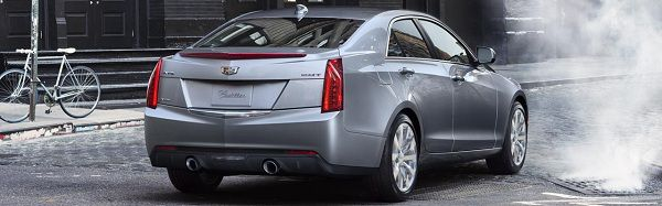 Exterior of the 2017 Cadillac ATS
