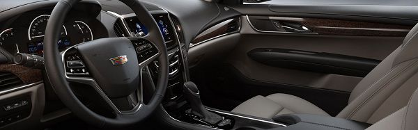 Interior of 2017 Cadillac ATS