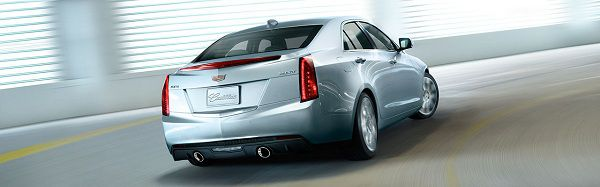 Powertrain of 2017 Cadillac ATS