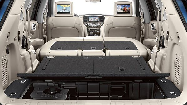 2017 Nissan Pathfinder Cargo Space