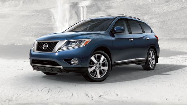 Exterior of 2017 Nissan Pathfinder