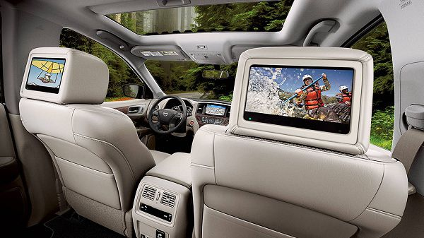 Technology Feature of 2017 Nissan Pathfinder