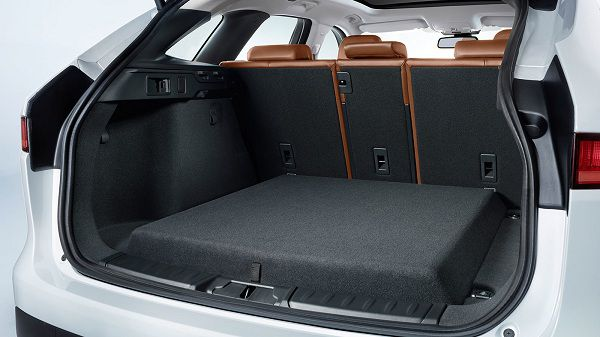 Cargo Area of 2017 Jaguar F-Pace