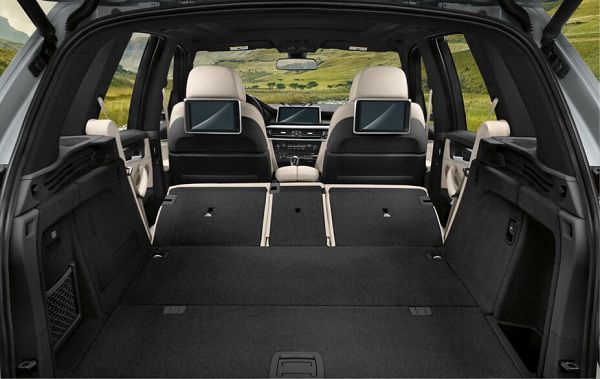 Cargo Area of 2017 BMW X5