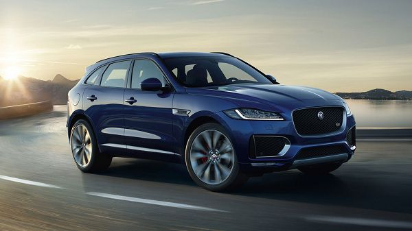 Exterior of 2017 Jaguar F-Pace