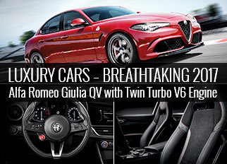 Luxury Cars – Breathtaking 2017 Alfa Romeo Giulia QV with Twin Turbo V6 Engine