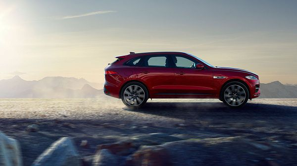 Powertrain of 2017 Jaguar F-Pace