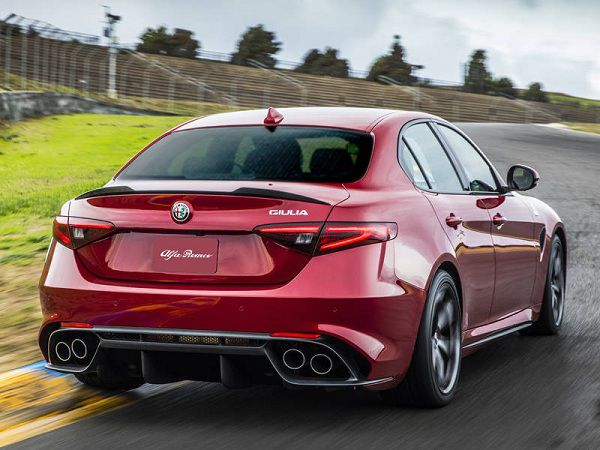 Price of Alfa Romeo Giulia QV 2017