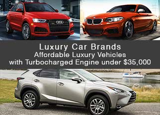 Luxury Car Brands – Affordable Luxury Vehicles with Turbocharged Engine under $35,000