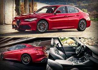 Luxury Cars – 2018 Alfa Romeo Giulia with Turbocharged V4 Engine & Safety Features