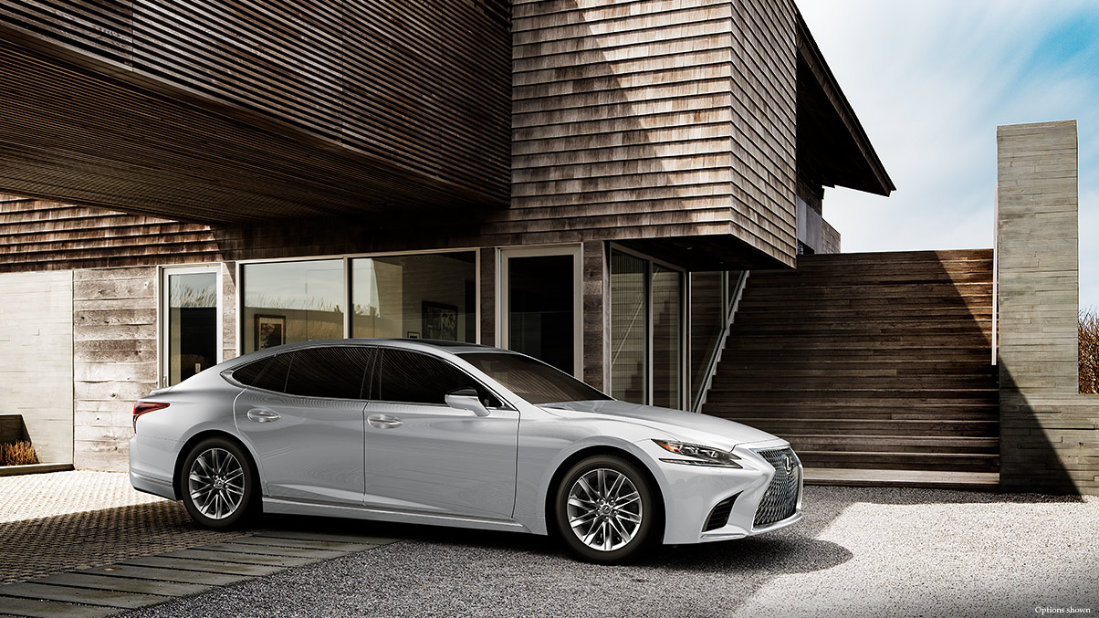 Design of 2018 Lexus LS 500