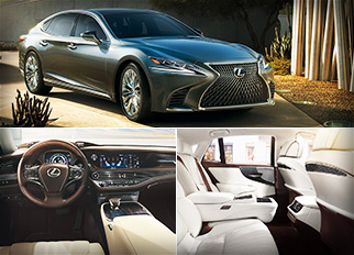 Luxury Cars – 2018 Lexus LS 500 with Twin-Turbocharged V6 Engine