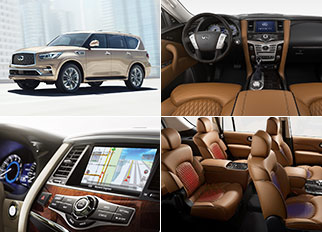 Best Luxury Brand Car – 2018 Infiniti QX80 with a Powerful V8 Engine and Advanced Technologies
