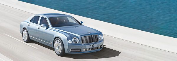 Exterior of 2018 Bentley Mulsanne