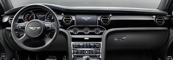 Interior of 2018 Bentley Mulsanne