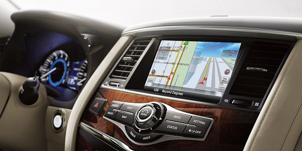 Technological Features of Luxury Brand Car