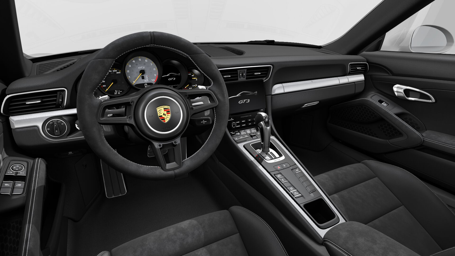 Interior Design of the 2018 Porsche 911 GT3