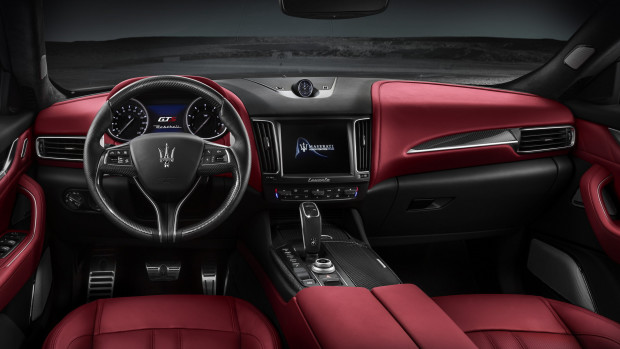 Interior of 2018 Maserati Levante