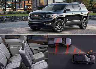 List of All Luxury Cars – The 2019 GMC Acadia SUV with a V6 Engine and Efficient Performance