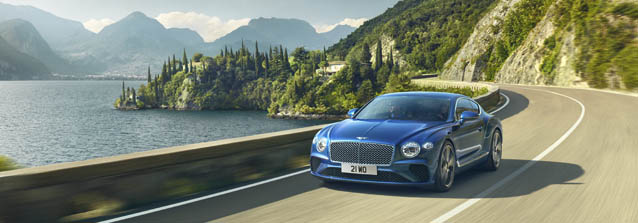 Performance of 2019 Bentley Continental GT Coupe