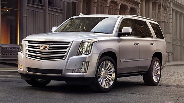 Exterior of the 2020 Cadillac Escalade