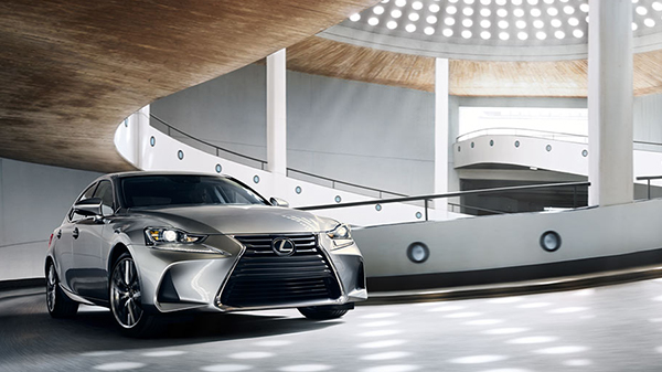 Performance of the 2020 Lexus IS