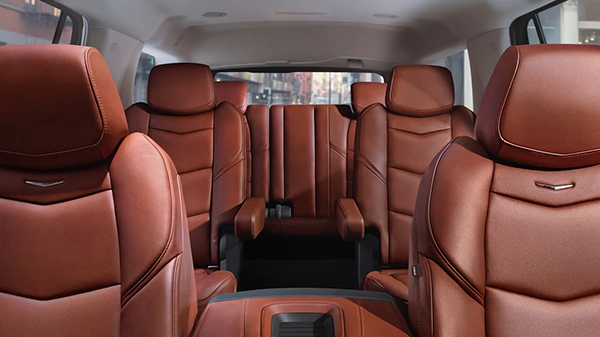 Interior of the 2020 Cadillac Escalade