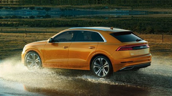 Performance of 2020 Audi Q8 with a TFSI V6 Engine