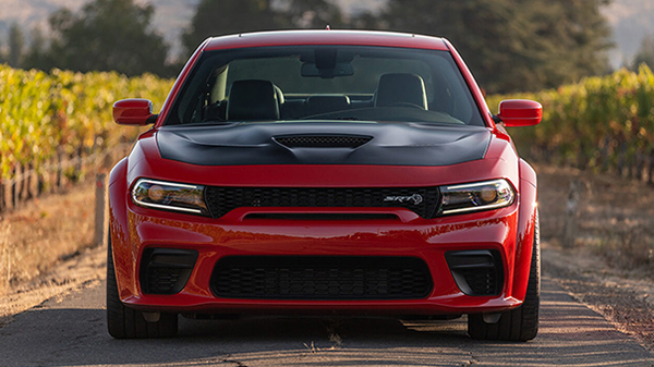 exterior of 2020 Dodge Charger