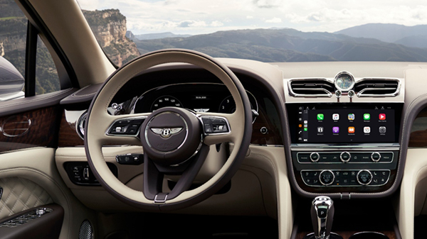 2020 Bentley Bentayga V8 interior