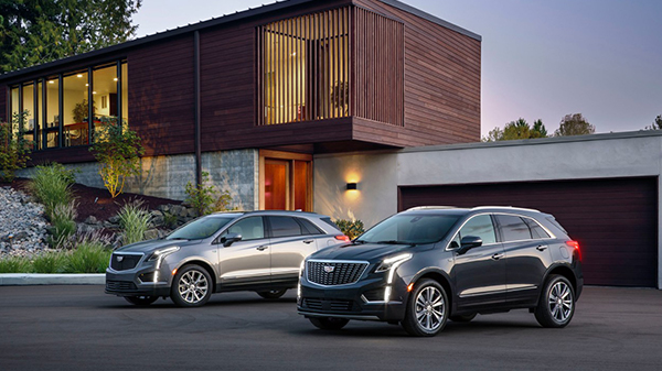 Exterior of 2020 Cadillac XT5 Crossover