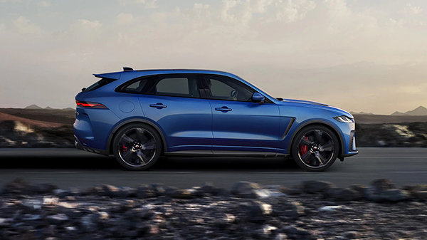Design of the 2021 Jaguar F-Pace SVR
