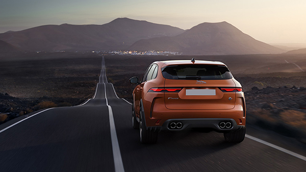 Performance Attributes of the 2021 Jaguar F-Pace SVR