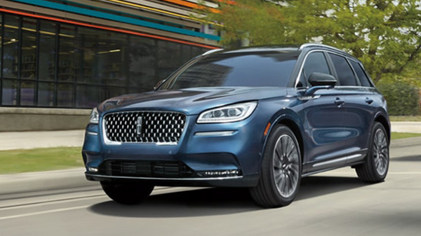 Exterior of the 2021 Lincoln Corsair