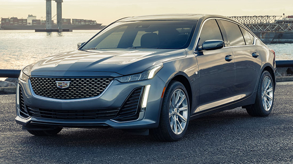 Exterior of the 2021 Cadillac CT5