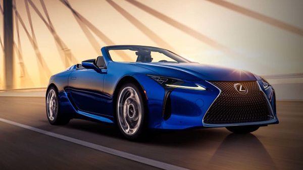 Performance of the 2021 Lexus LC 500 Convertible