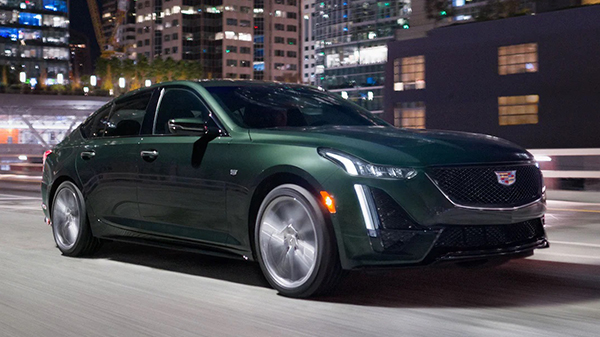 Performance of the 2021 Cadillac CT5
