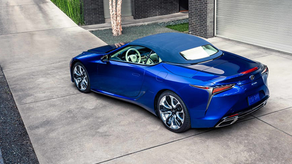 Price of the 2021 Lexus LC 500 Convertible in the UAE