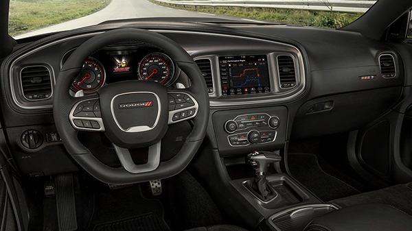 Interior 2021 Dodge Charger