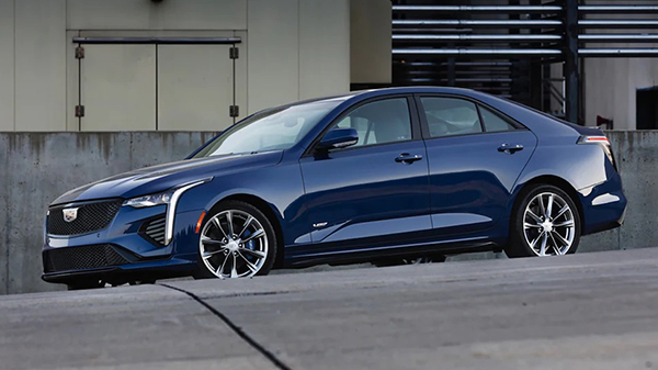 Design of the 2021 Cadillac CT4